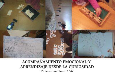 Acompañamiento emocional y aprendizaje desde la curiosidad (online)